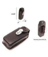 NEW UNIVERSAL CELL PHONE LEATHER HOLSTER POUCH CASE - $6.92