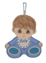 "2 pcs Baby Shower Birthday Hanging Foam Boy Centerpiece Decoration 15"" tall - $16.82"