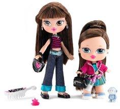 Bratz Kidz Sisterz Kiani and Lilani Dolls - $89.97