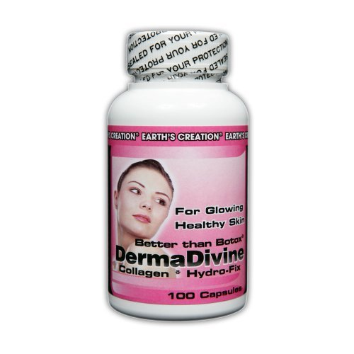 Earth's Creation Derma Divine Type I Collagen Hydro-fix - 100 Capsules