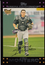 Miguel Montero 2007 Topps Series 1 Rookie Card #273 - $0.99