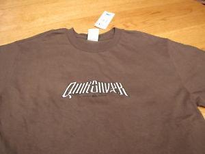 Boy's Quiksilver vangurad BTO S brown t shirt NEW NWT