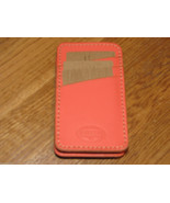 Fossil SL3930385 Austin Phone Sleeve Hot Coral iPhone leather iPhone NWT*^ - $16.03