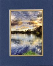 Power, Love, Sound Judgment - 2 Timothy 1:7. . . 8 x 10 Inches Biblical/Relig... - $10.39