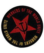 Workers of the World Unite Iron-On Patch Embroidered Communist Party CCC... - $4.99