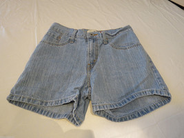 Levi's LOW 7 blue denim shorts juniors womens 731L 379556012 EUC# - $12.37