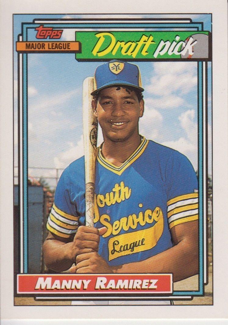 889cd8379a Manny Ramirez 1992 Topps Draft Pick Card #156 and 50 similar items