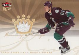 Corey Perry 2005-06 Fleer Ultra Rookie Scoring Kings Relic Card #SKJ-CP - $5.00