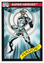Havok 1990 Marvel Comics Card #35 - $0.99