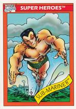 Sub-Mariner 1990 Marvel Comics Card #16 - $0.99