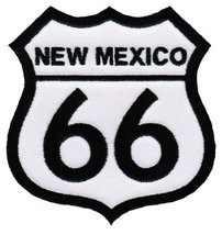 Route 66 New Mexico Embroidered Patch Iron-On Highway Road Sign Biker Emblem - $4.99