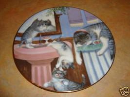 Mischief Makers Hamilton country kitties plate CAT - $11.87