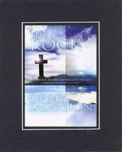 The Rock of My Salvation - Psalm 18:46. . . 8 x 10 Inches Biblical/Relig... - $10.39