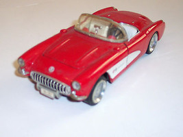 Sunnyside diecast 1957 Chevrolet Corvette, Red and White, 1:24 scale - $15.00