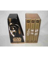 Boxed Set Of STAR WARS Trilogy VHS Tape Set Special Edition - $82.05