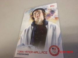 2014 Topps USA Winter Olympic Team #95 Torin Yater-Wallace -Freeskiing- - $2.97