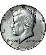1966 Silver Kennedy Half Dollar CP2003 - $5.75