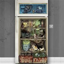 Halloween Spooky Fridge Door Banner Eyeballs Skulls Insects Horror 1.7m ... - $6.95