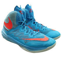 NIKE Prime Hype DF 2 Mens Size 13 Blue Basketball Sneakers 806941-400 - $44.54