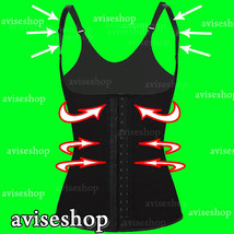 Corset Vest Waist Trainer Cincher Control Body Shaper Underbust Slimming Strap - $12.18+
