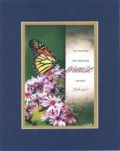 Praise the Lord, Psalm - 150:6. . . 8 x 10 Inches Biblical/Religious Verses s... - $10.39