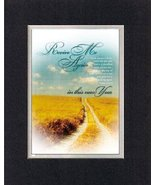 Revive Me Again In This New Year Psalm 51:10,12. . . 8 x 10 Inches Bibli... - $10.39