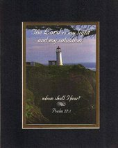The Lord is My Light and My Salvation; Whom Shall I Fear? - Psalm 27:1. . . 8... - $10.39