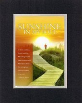Sunshine In My Soul - Eliza E. Hewitt. . . 8 x 10 Inches Biblical/Religious V... - $10.39