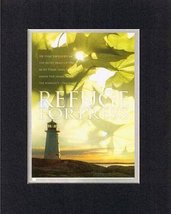 Refuge Fortress - Psalm 91:1. . . 8 x 10 Inches Biblical/Religious Verse... - $10.39