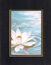 Ripples of Love - Ephesians 5:1. . . 8 x 10 Inches Biblical/Religious Verses ... - $10.39