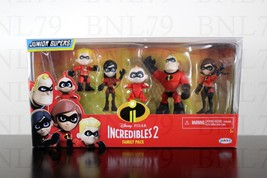 INCREDIBLES 2 Family pack set 5 figures Junior Supers Disney Elastigirl Violet - $14.99