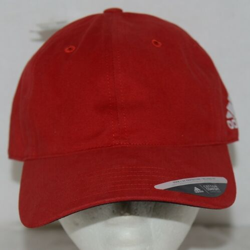Adidas Golf Headwear Powdered Red White One Size Fits Most B89899