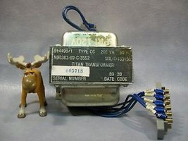 Titan Transformer 514496/1   Type CC 200 VA - $275.17