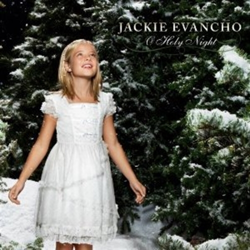 O holy night cd dvd by jackie evancho