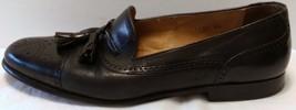 Havans 9 Leather Wingtip Mezlan Slip Tassel Dress Black Shoes Loafer Size M On xq4TgfwdT