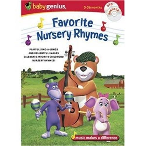 Favorite nursery rhymes dvd