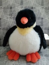 NWT Plumpee Penguin By Unipak, 11 Inch plush animal - $12.38