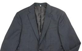 NEW HARDY AMIES BLACK & GRAY MICRO CHECK 100% WOOL HEDDON SLIM FIT BLAZE... - $148.49