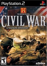 History Channel: Civil War: A Nation Divided - PlayStation 2 [PlayStation2] - $3.95