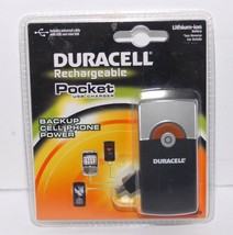 NEW Duracell Rechargeable Pocket USB Charger Mini USB - $10.69