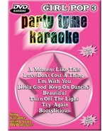 Party Tyme Karaoke - Girl Pop, Vol. 3 [DVD] - $13.85