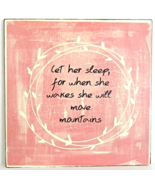 """""""Let her Sleep"""" Antique Style Rustic Classic Wall Art Sign Home Decor - $14.00"""