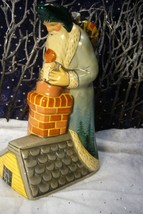 Vaillancourt Santa on Roof with Toys Signed by Judi image 1