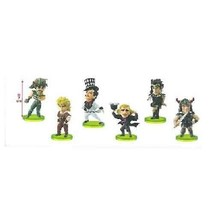 *JoJo's Bizarre Adventure Phantom Blood World Collectible figures vol.3 all six - $60.86