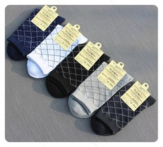 New Mens Cotton Socks Low #B Cut Ankle Socks Crew Sock One Size Socks - $6.50+