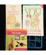 American Girl Books Lot/3 Babysitters Handbook Care & Keeping Of You Tin... - $6.92