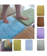 New Bath Mat #B Memory Foam Mats Bathroom Rugs Anti Slip Rug Non Skid Ab... - $91,33 MXN+