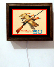 Winchester 50 Rifle Duck Hunting Advertising Re... - $51.48