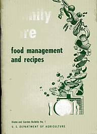 FAMILY FARE Food Management and Recipes - 1950