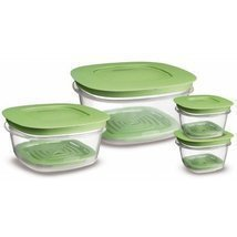 4 Container Produce Saver Food Storage Container Set - €24,03 EUR